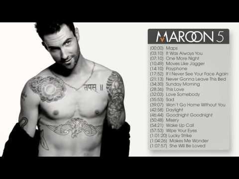 Best songs of Maroon 5