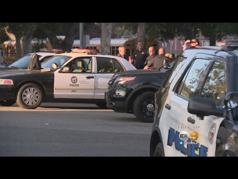 Eagle Rock High Students, Parents Arrive At School To Find Search For Suspect