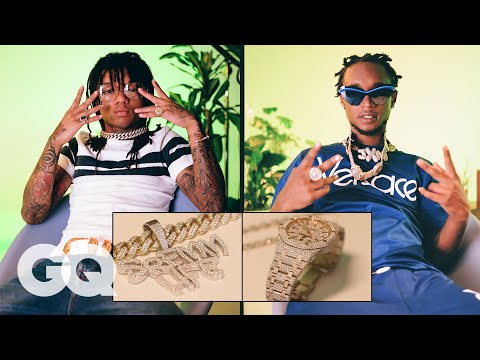 Rae Sremmurd Show Off Their Insane Jewelry Collections | On the Rocks | GQ