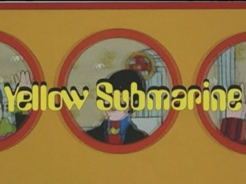 The Beatles' Yellow Submarine film is restored and re-released