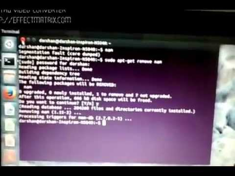 How to resolve Segmentation fault (core dumped) error in ns2 (ubuntu)