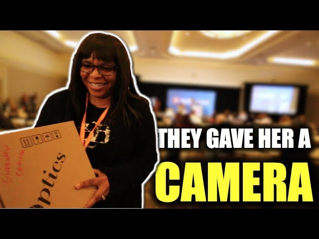 She won a Camera at VidSummit