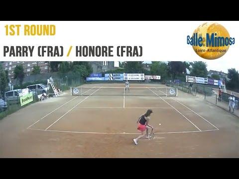 PARRY (FRA) vs HONORE (FRA) Round 1 -Court 12