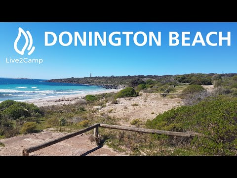 Donington Beach Campground -  Lincoln National Park South Australia