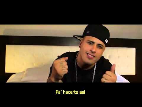 Piensas En Mi Nicky Jam Video Con Subtitulos Letra Youtube
