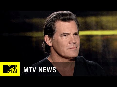 Josh Brolin Says Playing 'Avengers' Baddie Thanos Was an Easy Decision | MTV News