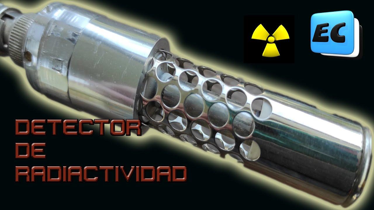 DETECTOR DE RADIACTIVIDAD GEIGER CASERO CON MATERIALES DE UNA FUENTE DE PC #Radiactividad