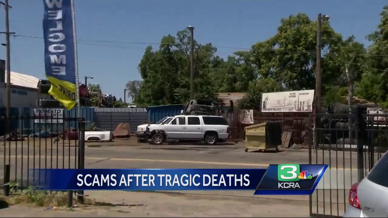 Scammers try to cash in after 2 Stanislaus Co  officers killed in crash