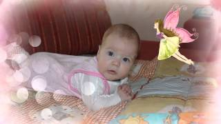 Слайд-шоу дочке на 1 годик