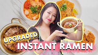 5 Easy Ways To LEVEL UP Your Instant Noodles!