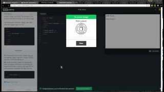 Codecademy HTML Basics walkthrough 1-6