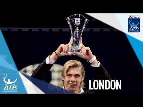 Shapovalov's Day At The O2 Nitto ATP Finals 2017