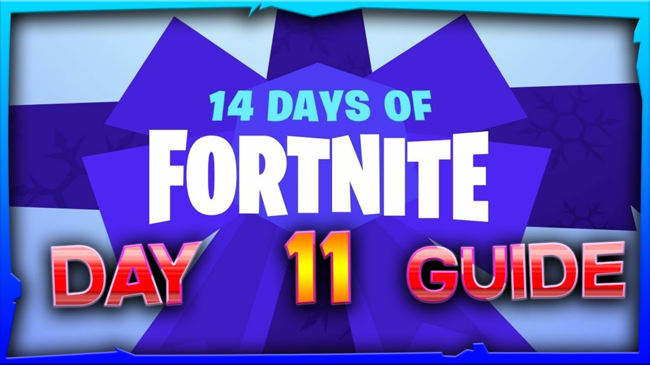 14 Days Of Fortnite Day 11 Challenge Guide Reward Thank The Bus