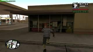 Прохождение GTA San Andreas на 100%(Перекрашиваем граффити #1)