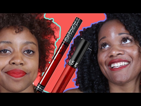 Thumbnail: Women Try to Find A Perfect Red Lipstick