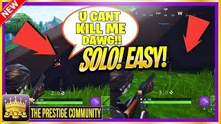 Fortnite Saison 6 'SUPER EASY' COMMENT être INVISIBLE - SHOOT Joueurs! (Nouveau SOLO Invisible Glitch)