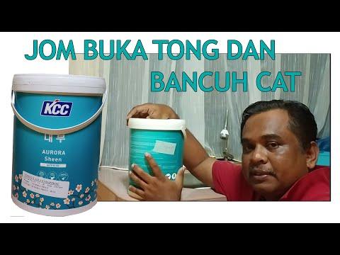 Cara Buka Tong Dan Bancuh Cat You