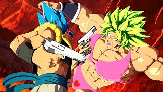 The Broly Movie...BUT Gogeta Has Guns