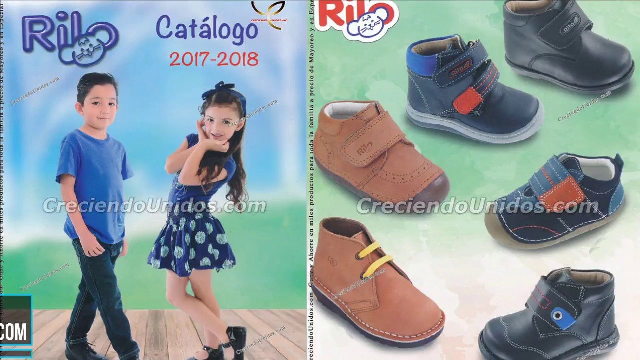 00f1714f0 583 Catálogo Rilo Shoes zapatos para niños al por mayor en USA - YouTube