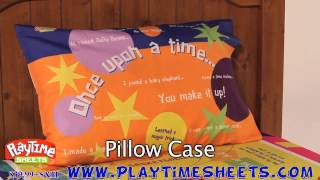 Interactive Twin Bed Sheets For Girls & Boys - Playtime Sheets Commercial