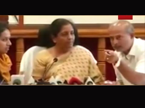 Watch: Defence minister Nirmala Sitharaman loses cool, gets angry on camera