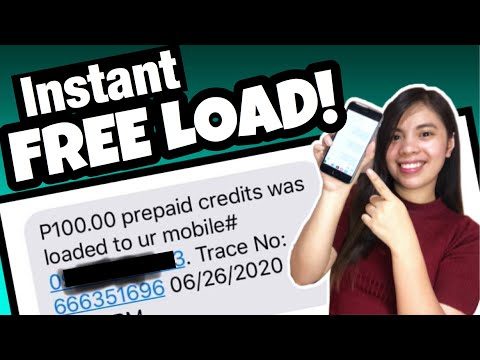 Unlimited P100 FREE LOAD to Any Network  Globe Smart Sun Tm Gamit ang Isang APP | LEGIT APP!
