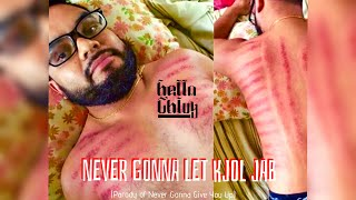Never Gonna Let Kjol Jab [MV] Rick Astley Parody កុំអោយខ្យល់ចាប់ #khmer #english #RickRoll