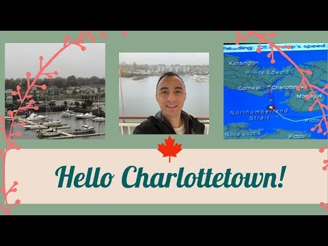 NORWEGIAN GEM Docking In CHARLOTTETOWN PEI l Cruise Vlog l E