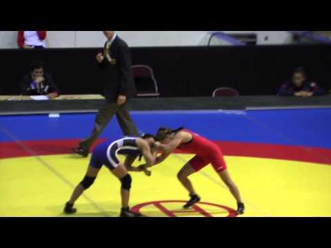 2014 Junior Pan-American Championships: 44 kg Regina Doi (USA) vs. Jahaira Cedeno (ECU)