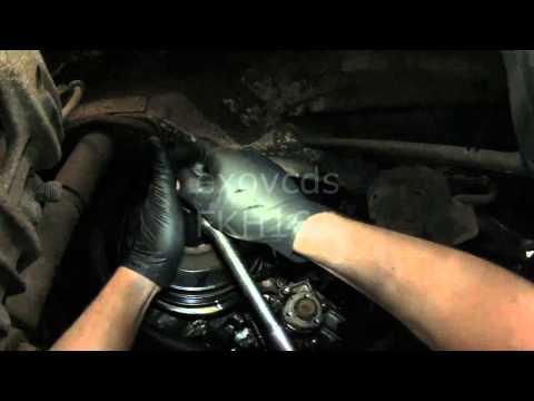 VW T4: AAB 2.4L Diesel Timing Belt & Water Pump (Part 2)