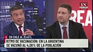 Plan de vacunación. Alberto Fernández había prometido 10 millones de vacunas para febrero.