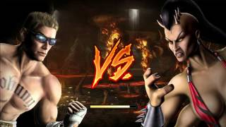 Mortal Kombat 9 (2011) - Johnny Cage (Arcade Ladder) - [Expert] - No Matches/Rounds Lost