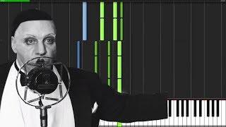 Rammstein  Radio  Piano Tutorial