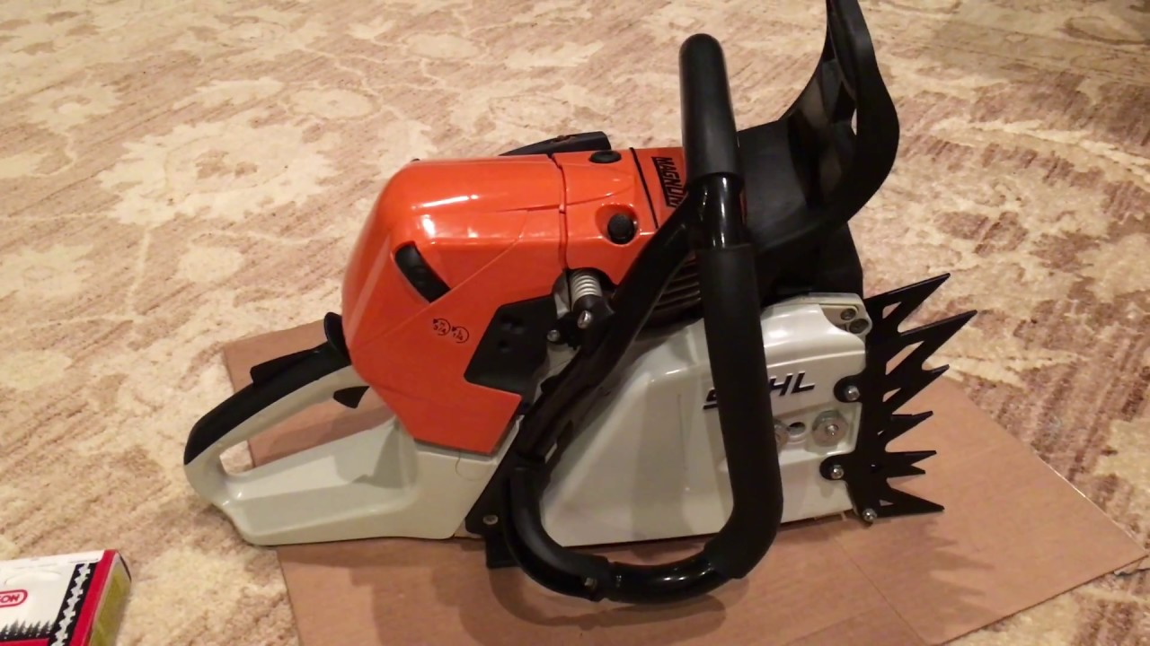 stihl 441 magnum chainsaw, which i sold recently - youtube
