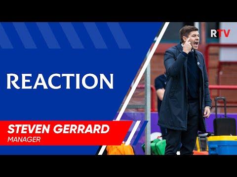 REACTION | Steven Gerrard | Dundee 0-1 Rangers