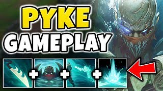 NEW CHAMPION PYKE IS RIDICULOUSLY BROKEN! TRUE DMG ULT RESETS + MOBILITY!! - League of Legends