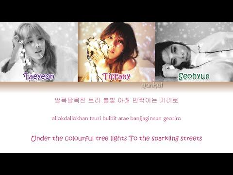 Girls' Generation-TTS (소녀시대-태티서) - Dear Santa (Color Coded Han|Rom|Eng Lyrics) | by Yankat