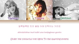 Girls' Generation-TTS (소녀시대-태티서) - Dear Santa (Color Coded Han|Rom|Eng Lyrics) | by Yankat