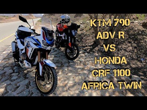 Ktm 790 Adventure R Vs Honda Crf1100 Africa Twin Youtube