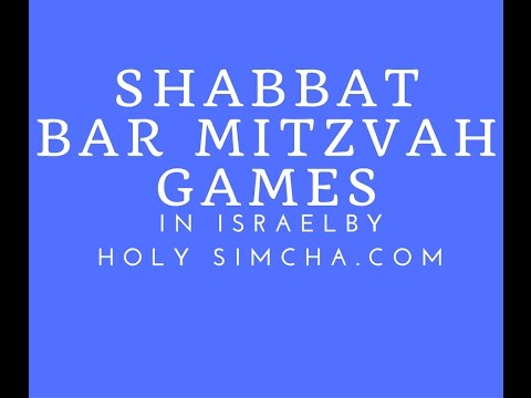 Israel Bar Mitzvah Shabbat Games Provider Customer  Reviews