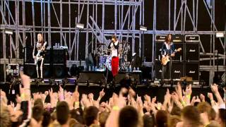Red Hot Chili Peppers perform By The Way live at Slane Castle, Irel...