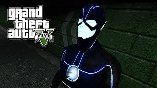 GTA 5 Mods - CW FUTURE FLASH ⚡ (Superhero Mod) Grant Gustin