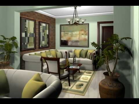 Residencial jardines dorados iii video interiores apto for Modelos de jardines interiores