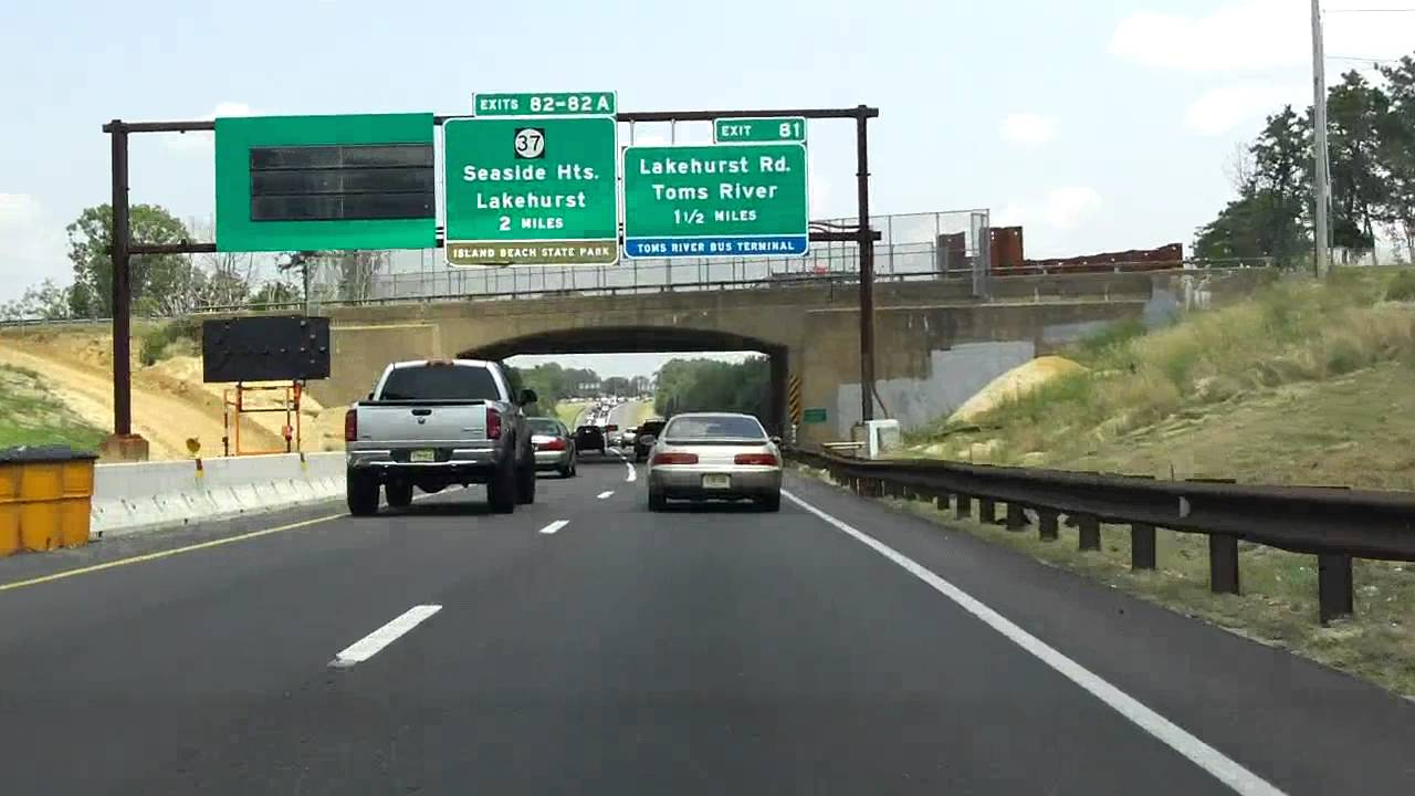 Garden State Parkway Exits 80 To 88 Northbound Youtube