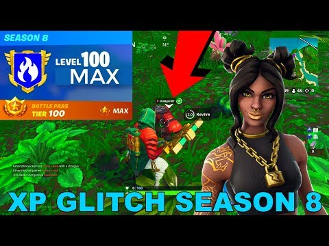 MASSIVE XP GLITCH* How to LEVEL UP FAST in Fortnite Season 8
