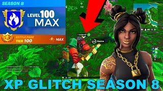 *MASSIVE XP GLITCH* How to LEVEL UP FAST in Fortnite Season 8!