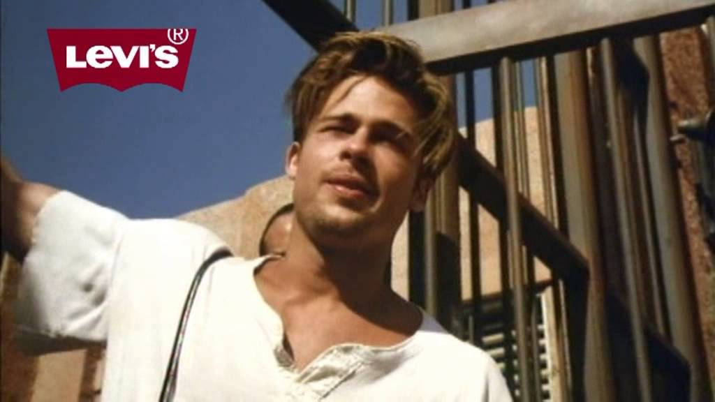 Image result for levis brad pitt""