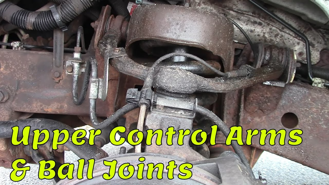 Replace Upper Control Arms 2003 Gmc Savana 3500 By Gettinjunkdone Youtube