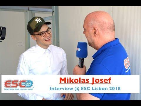 Mikolas Josef (Czech Republic 2018) Interview @ Eurovision 2018 | ESC Radio