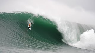 Big-wave surfer Lucas Chumbo snags a giant wave at Mavericks | GrindTV